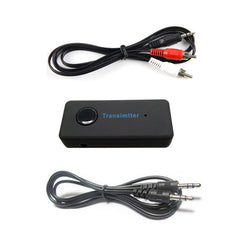 Draadloze Bluetooth 3.0 3.5mm Stereo Audiokabel Muziek Audio Bluetooth Zender Adapter voor TV # R179T #