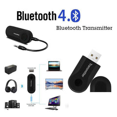 Draadloze Bluetooth Transmitter Stereo Audio Music Adapter Voor TV Telefoon PC Y1X2