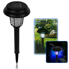 Outdoor Solar LED UV Mosquito Killer Lamp Tuin Gazon Insect Pest Bug Zapper Licht