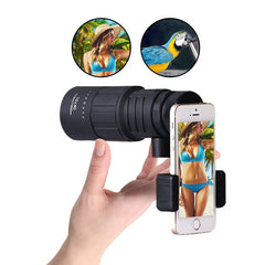 Monocular Telescope with Mobile Phone Stand