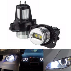 Paar witte Angel Eyes LED Halo Ring Maker 6W gloeilamp voor BMW E90 E91