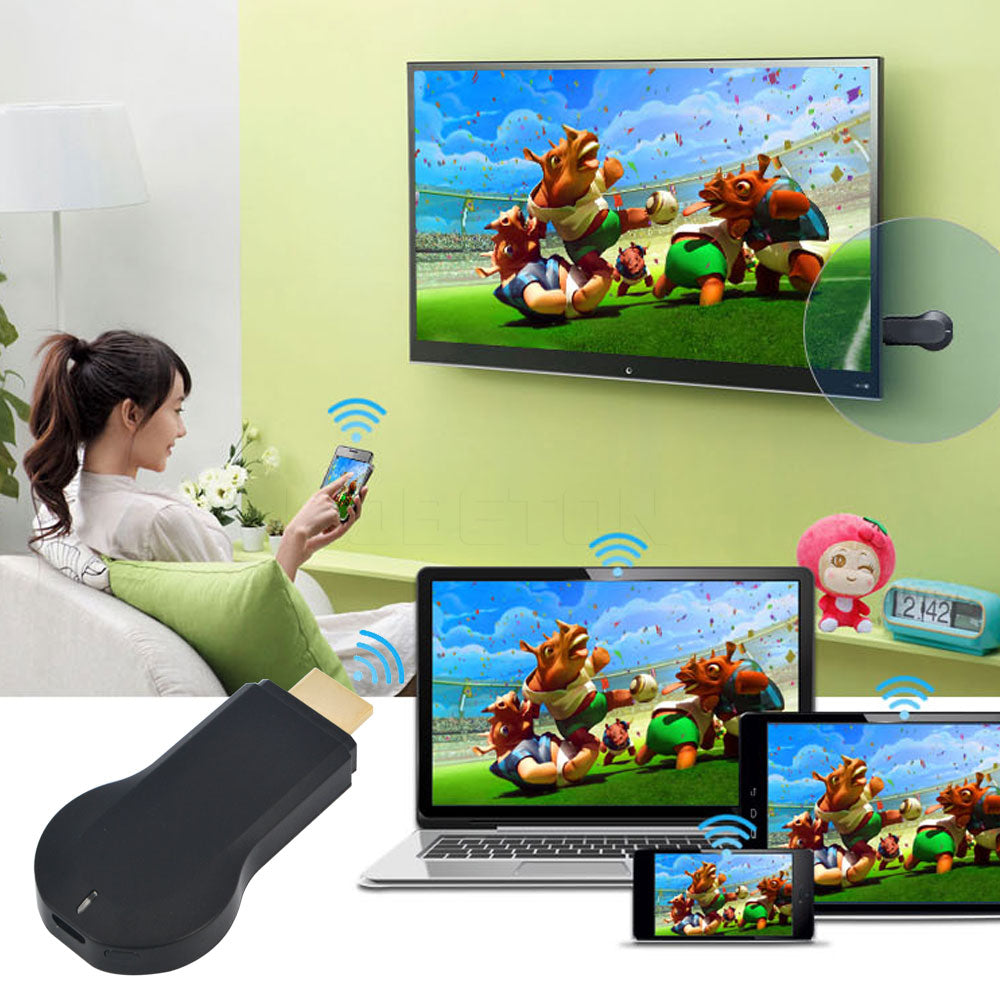 KebidumeiM2 WIFI Mediaspeler Miracast DLNA Air paly 1080 P Windows iOS Android Ipush Smart TV Stick