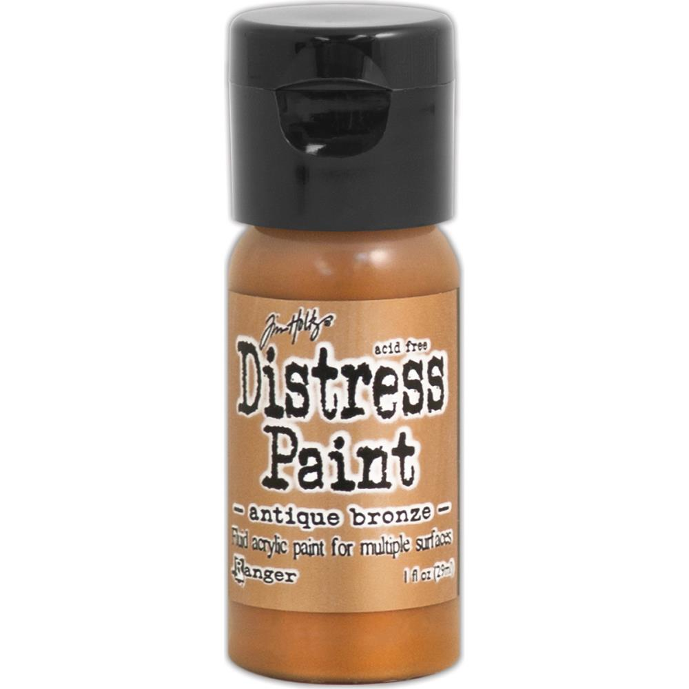 Ranger Distress Paint Flip Top - Antiqued Bronze