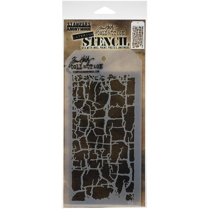 Tim Holtz Layering Stencil - Decayed