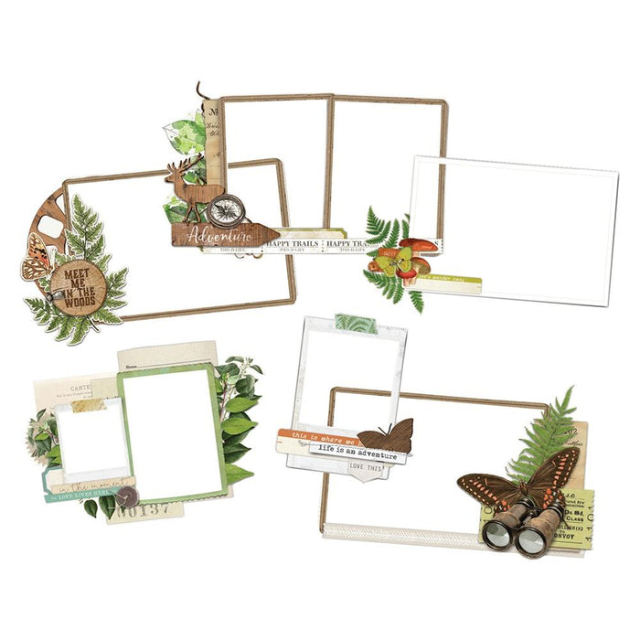 Simple Stories Simple Vintage Great Escape - Layered Frames