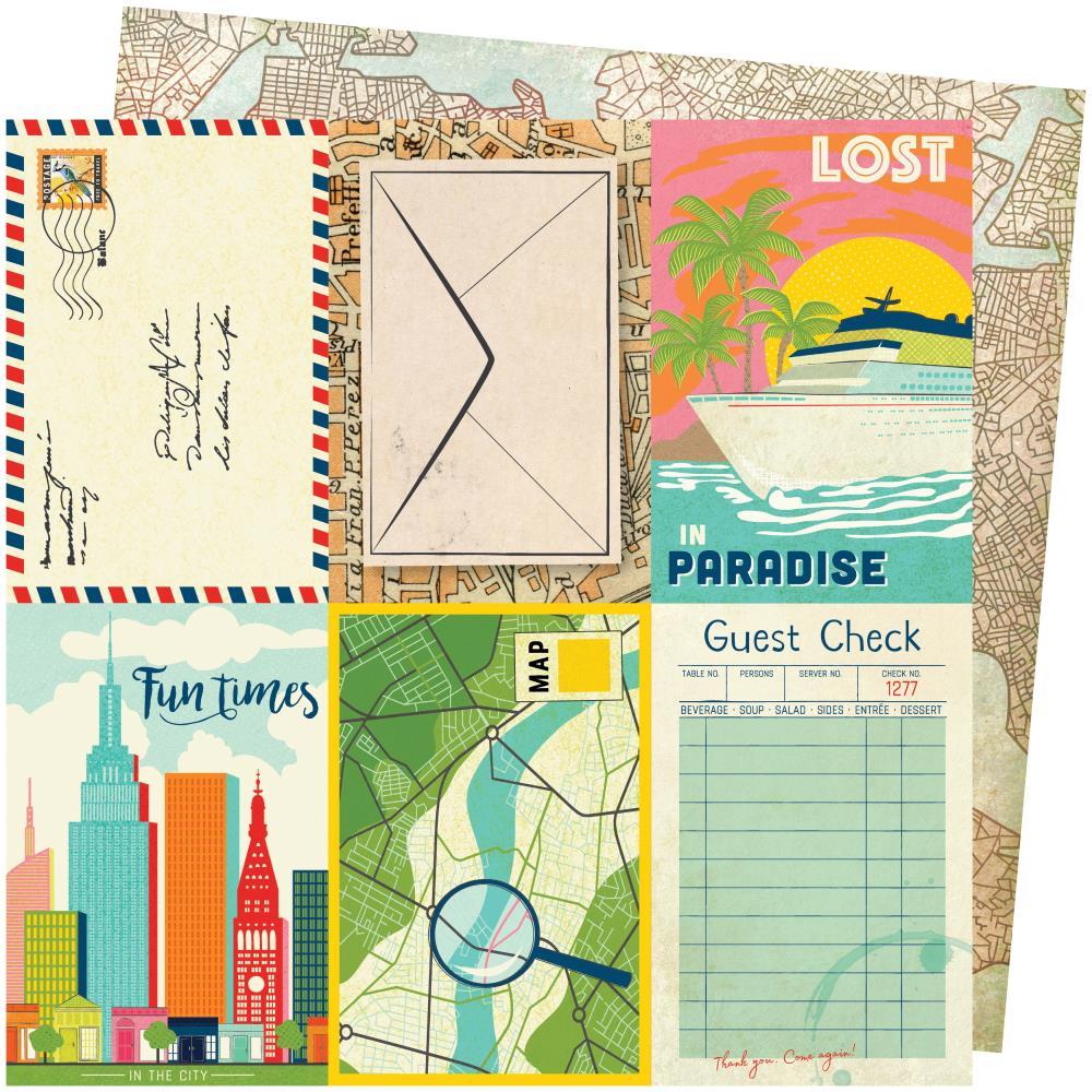 American Crafts Vicki Boutin Let's Wander - Lost in Paradise
