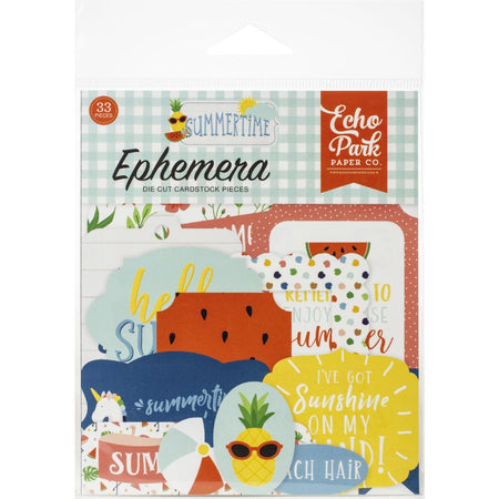 Echo Park Summertime - Ephemera Icons