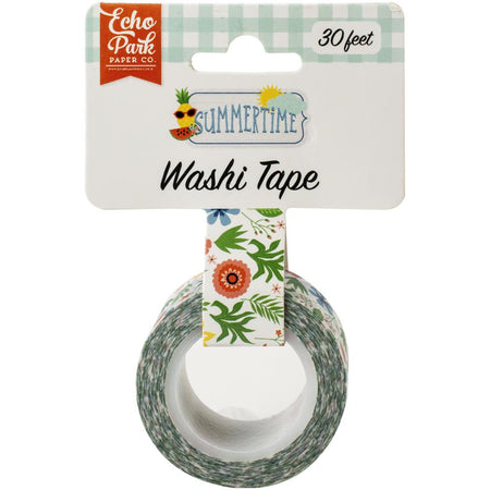 Echo Park Summertime - Summer Flowers Washi Tape