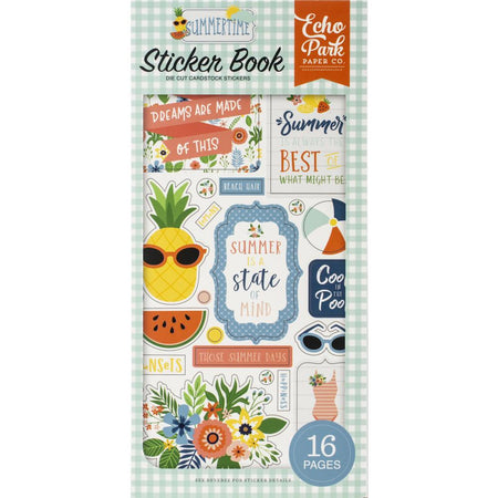 Echo Park Summertime - Sticker Book