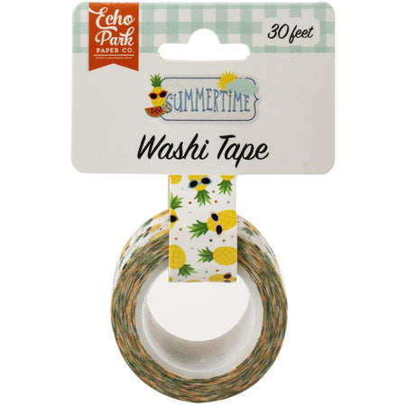 Echo Park Summertime - Cool Pineapples Washi Tape