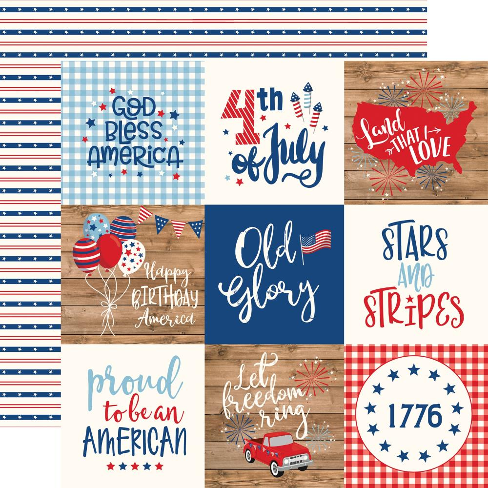 Echo Park America - 4x4 Journaling Cards