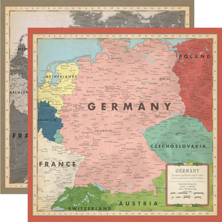 Carta Bella Cartography No. 2 - Germany