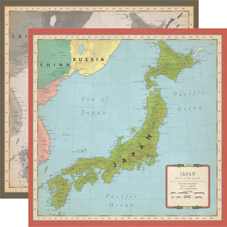 Carta Bella Cartography No. 2 - Japan