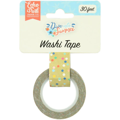 Echo Park Dive Into Summer - Good Vibes Dot Washi Tape