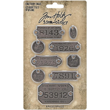 Tim Holtz Idea-ology - Factory Tags