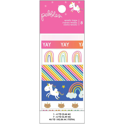 Pebbles Live Life Happy - Washi Tape