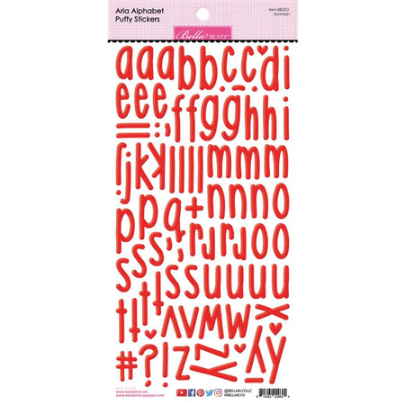 Bella Blvd Aria Puffy Alphabet Stickers - McIntosh