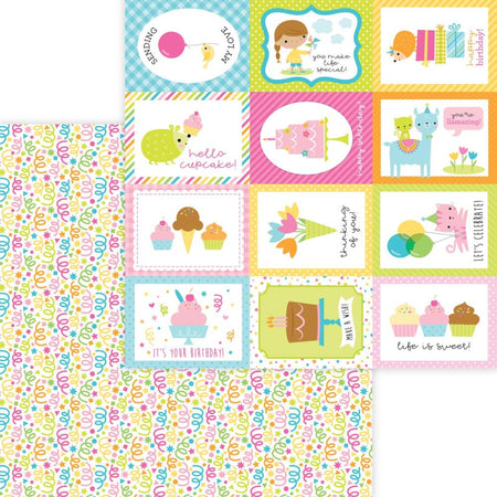 Doodlebug Design Hey Cupcake - Birthday Bash