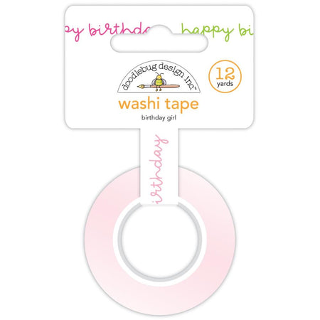 Doodlebug Design Hey Cupcake - Birthday Girl Washi Tape