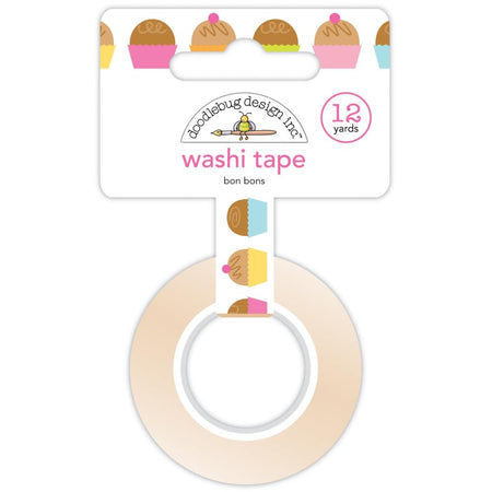 Doodlebug Design Hey Cupcake - Bonbons Washi Tape