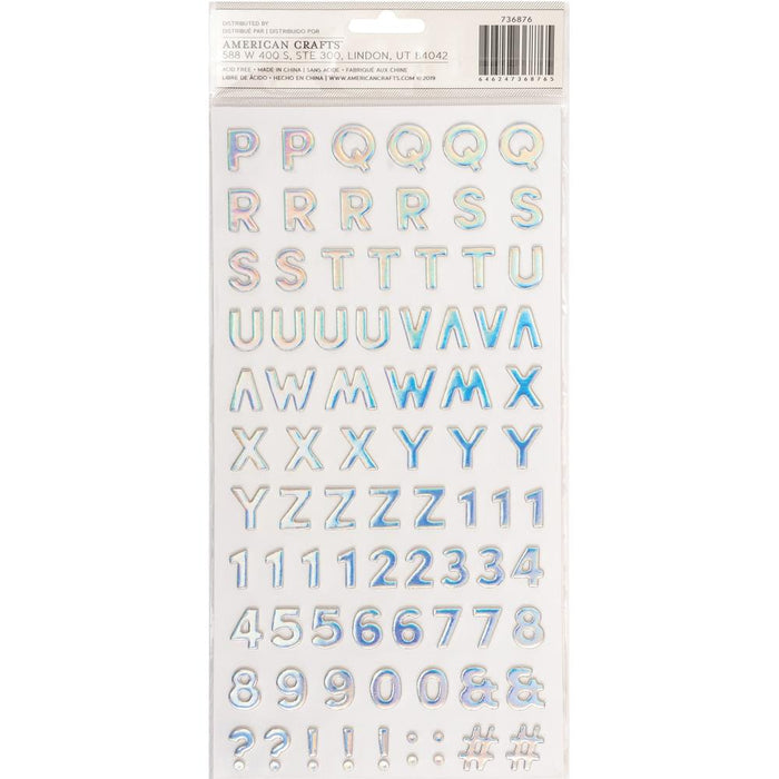 Pebbles Sun & Fun - Lake Chipboard Thickers