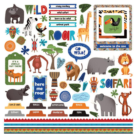 Photoplay A Walk on the Wild Side - Element Stickers