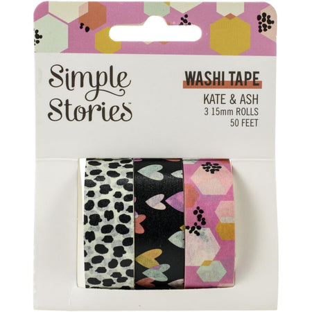 Simple Stories Kate & Ash - Washi Tape