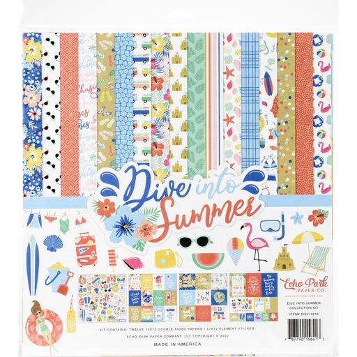 Echo Park Dive Into Summer - Collection Kit