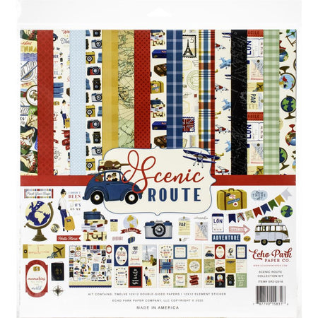 Echo Park Scenic Route - Collection Kit