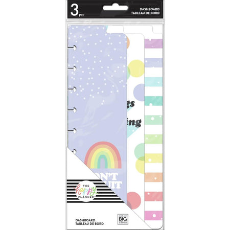 Me & My Big Ideas Happy Planner - Rainbow Skinny Dashboard