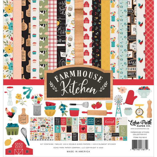 Echo Park Farmhouse Kitchen - Collection Kit
