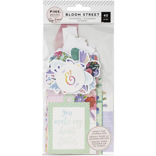 Pink Paislee Paige Evans Bloom Street - Ephemera Journal Spots