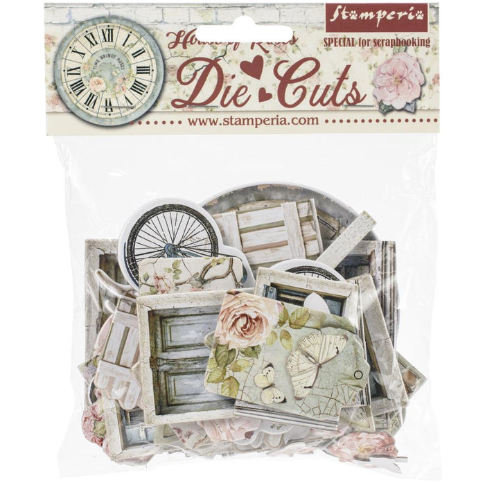 Stamperia Die-Cuts - House of Roses