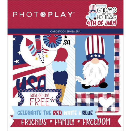 Photoplay Gnome for 4th of July - Ephemera