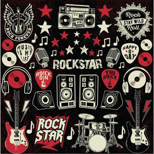 Reminisce Rockstar - Stickers