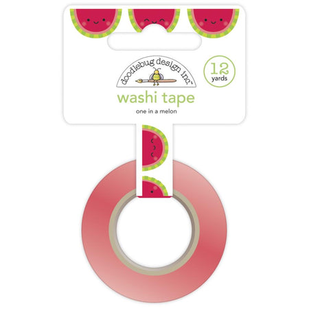 Doodlebug Design Washi Tape - One in a Melon