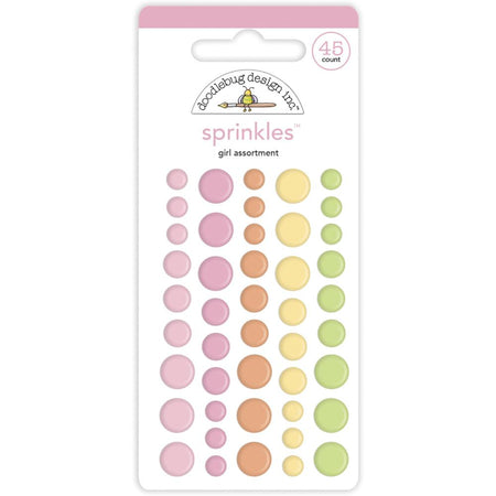 Doodlebug Design Bundle of Joy - Baby Girl Assortment Sprinkles