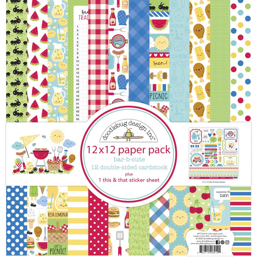 Doodlebug Design Bar-B-Cute - Collection Kit
