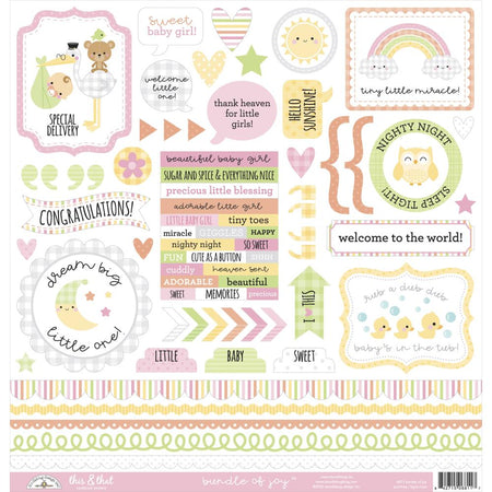 Doodlebug Design Bundle of Joy - This & That Stickers