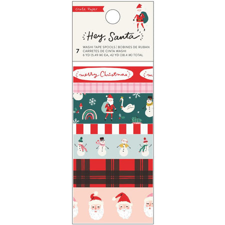 Crate Paper Hey Santa - Washi Tape