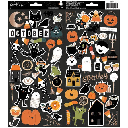 Pebbles Spoooky - Accent Stickers