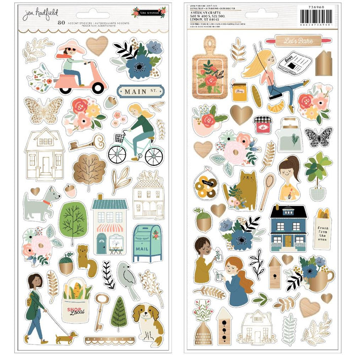 Pebbles Jen Hadfield The Avenue - Icon Stickers