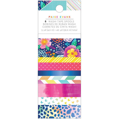 American Crafts Paige Evans Go The Scenic Route - Washi Tape