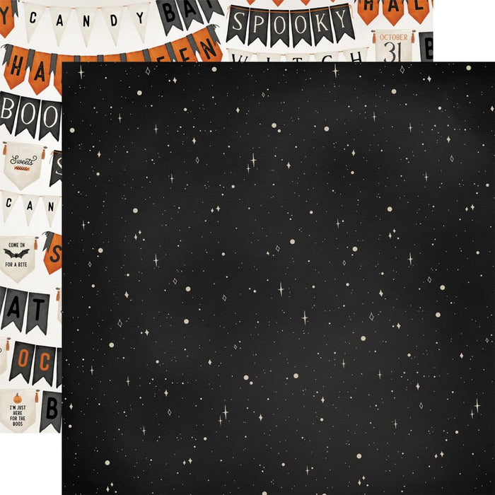 Carta Bella Halloween Market - Night Sky