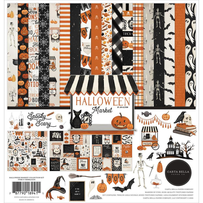 Carta Bella Halloween Market - Collection Kit