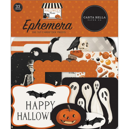 Carta Bella Halloween Market - Ephemera
