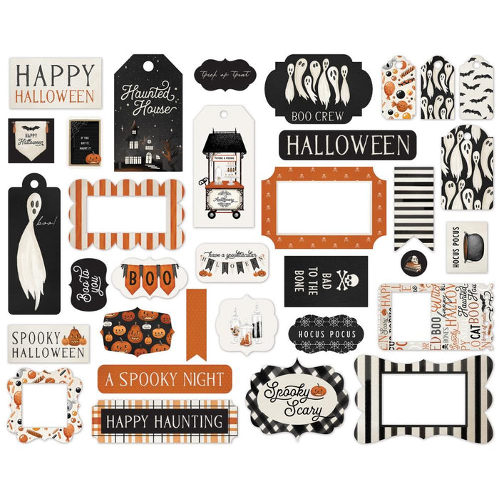 Carta Bella Halloween Market - Ephemera Frames & Tags
