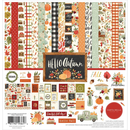 Carta Bella Hello Autumn - Collection Kit