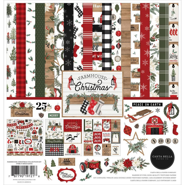 Carta Bella Farmhouse Christmas - Collection Kit