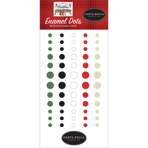 Carta Bella Farmhouse Christmas - Enamel Dots